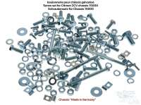 Screw+set+for+Citroen+2CV+chassis+%22Made++in+Germany%22%2C+for+the+securement+of+the+body+on+the+chassis.