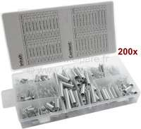 Spring Assortment, 200 pcs. Compression and extension springs, popular sizes - 20977 - Der Franzose