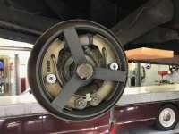 Brake centering tool, for the rear drum. Suitable for Citroen 2CV. -1 - 13010 - Der Franzose