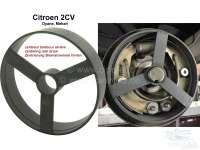 Brake centering tool, for the rear drum. Suitable for Citroen 2CV. - 13010 - Der Franzose