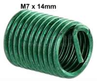 Heli coil application M7. Length: 14,0mm (Thread repair) | 21135 | Der Franzose - www.franzose.de