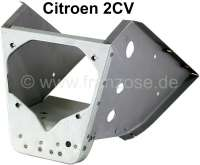 2CV, speedometer and starter lock mounting in the body (dashboard). Complete sheet metal construction. Suitable for Citroen 2CV, AK, AZU. Made in Europe. - 15601 - Der Franzose