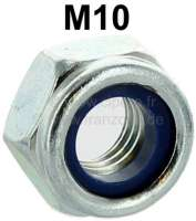 Tie rod nut, self locking. For the securement at the steering gear. Suitable for all Citroen 2CV, Dyane, Ami. | 12120 | Der Franzose - www.franzose.de