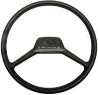 Steering wheel 2 spokes, reproduction. Suitable for Citroen 2CV, Dyane, Mehari. | 18133 | Der Franzose - www.franzose.de