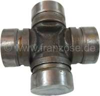 Universal joint for the steering column. Suitable for Citroen AMI + Mehari. (inclusive Bearing). Diameter: 17,5mm. Length: 43mm. - 12131 - Der Franzose