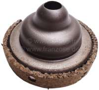 Friction disk (plate) for the small suspension pot. 110mm diameter. Suitable for Citroen 2CV. - 12106 - Der Franzose