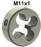 M11x1 male thread cutter (die nut). Workshop quality. E.G. suitable for the spring pot hinged tie bars threads of Citroen 2CV. - 20228 - Der Franzose