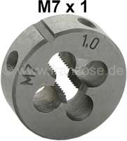 M7 x 1,00 male thread cutter (die nut M9x1,25) - 21150 - Der Franzose