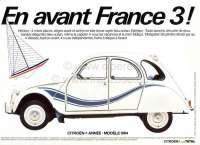 Transat sticking set completely. For Citroen 2CV special model Transat. -2 - 16025 - Der Franzose