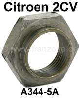 Nut in front for the layshaft, in the gearbox. Suitable for Citroen 2CV4+6. - 10327 - Der Franzose