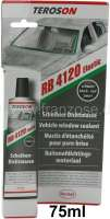 Vehicle Window sealant permanent elastic. Original Teroson! 75ml tube. Application: Ideally to sealing rubber-mounted front. - Tail and side windows. Very stably, water-resistant, remains elastic. Good adhesion also on wet disk. | 20966 | Der Franzose - www.franzose.de