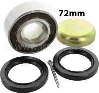 Wheel bearing set for Citroen 2CV, rear. (inclusive shaft seal + grease cap). Suitable for all years of construction. Brand manufacturers. Dimension: 35 x 72 x 27mm. Made in Spain - 12296 - Der Franzose
