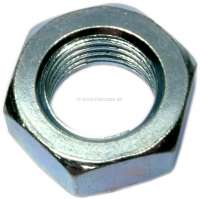 Nut 1/2 -20 UNF, (thin nut). For the securement of brake hoses. Wrench: 3/4 x 5/16. - 74579 - Der Franzose