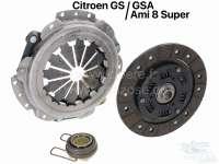 Clutch kit for all GS/GSA, AMI8 super. - 42293 - Der Franzose