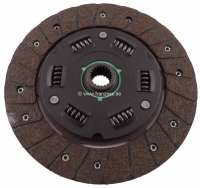 P J5/C25, clutch disk. Suitable for Peugeot J5 + Citroen C25. Of year of construction 1981 to 1988 (petrol + Diesels). Dimension: 215 x 145 x 3.2mm. 21 teeth. - 82323 - Der Franzose