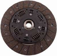 P J5/C25, clutch disk. Suitable for Peugeot J5 + Citroen C25. Of year of construction 1981 to 1988 (petrol + Diesels). Dimension: 215 x 145 x 3.2mm. 21 teeth. - 82324 - Der Franzose
