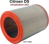 Air filter air conditioning. Sutiable only for Citroen DS, with air conditioning (AC). Or. No. DX171-208A - 32506 - Der Franzose