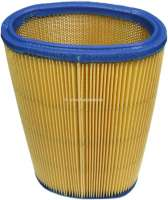 Air filter, type Vokes (clasped air cleaner housing). Suitable for Citroen 11CV. Length: 230mm. Or. Nr.481598 -1 - 60010 - Der Franzose