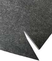Damming mat set (felt under carpet), suitable for Citroen DS Pallas, starting from year of construction 1967. These felt mats clogged original under the carpet. Like original. -1 - 38181 - Der Franzose
