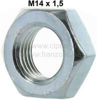 Nut M14x1,5, for the brake hose securement. Suitable for Citroen DS. - 33023 - Der Franzose