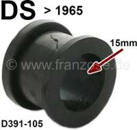Anti-chafing rubber, largely (15mm), for hydraulic line. Suitable for Citroen DS, to year of construction 1965. Or. No. D391-105 | 34647 | Der Franzose - www.franzose.de