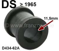 Anti-chafing rubber, small (11,5mm), for hydraulic pipe (return to the storage). Suitable for Citroen DS, to year of construction 1965. Or. No. D434-62A | 34648 | Der Franzose - www.franzose.de