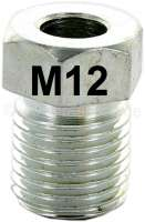 Clinch screw, for 6.35mm hydraulic pipe. Thread: 12mm. - 34584 - Der Franzose
