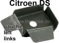 C-post on the left. End with fixture for the rubber down at the support. Suitable for Citroen DS sedan. | 35268 | Der Franzose - www.franzose.de