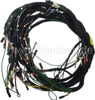 Main cable harness. Battery on the right. Alternating current. 2 relays, 8 fuses. Export version (Italy + outside of Europe). Suitable for Citroen DS (DX-DJ-DY-DL-DV), starting from year of construction 12/1967 to 10/1968. | 34641 | Der Franzose - www.franzose.de