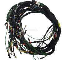 Main cable harness. Battery on the right. 2 relays. Suitable for Citroen DS (model DX-DJ), starting from year of construction 10/1968 to 01/1969. Made in Germany. - 35488 - Der Franzose