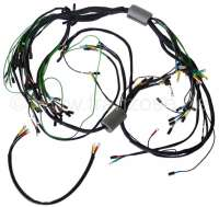 Main cable harness. Battery on the left. 3 relay. 8 fuses (export version). Suitable for Citroen ID (DY-DL-DE), of year of construction 09/1965 to 09/1966. | 35526 | Der Franzose - www.franzose.de