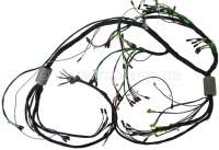 Main cable harness. Battery on the right. 2 relays. 8 fuses. For direct current generator. Suitable for Citroen ID (DV2), of year of construction 09/1966 to 09/1967. Made in Germany. - 35528 - Der Franzose