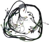 Main cable harness. Battery on the right. Alternating current. 3 relay. 8 fuses (export version). Suitable for Citroen DS (model DX-DJ-DY-DL), starting from year of construction 09/1967 to 09/1969. Made in Germany. - 35530 - Der Franzose