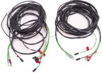 Tail cable harness, on the left + on the right. Suitable for Citroen HY, short (L1) wheel base. For all years of construction. Made in Germany. - 48277 - Der Franzose