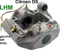 Brake caliper on the left, in the exchange. Hydraulic system LHM. Suitable for Citroen DS, starting from year of construction 1966. Or. No. DVN451020. Plus Old part deposit 150 Euro. - 33027 - Der Franzose