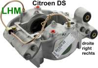 Brake caliper on the right, in the exchange. Hydraulic system LHM. Suitable for Citroen DS, starting from year of construction 1966. Or. No. DVN451020A. Plus Old part deposit 150 Euro - 33028 - Der Franzose