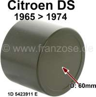 Brake caliper piston. Suitable for Citroen DS, starting from year of construction 1965. Diameter: 60mm. Or. No. 1D5423911E - 34589 - Der Franzose