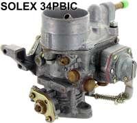 Carburetor, Solex 34 PBIC. Reproduction. Suitable for Citroen 11CV D. | 60912 | Der Franzose - www.franzose.de