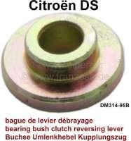 Clutch cable reversing lever bearing bush. Suitable for Citroen DS. Dimension: 7.2 x 20 x 7,2mm. Or. No. DM314-95B | 32231 | Der Franzose - www.franzose.de