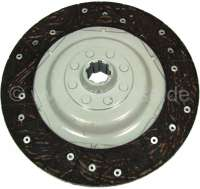 Clutch disk, new part. Suitable for Citroen HY, to year of construction 10/1968. Diameter: 215mm. Or. No. H31301A - 48031 - Der Franzose