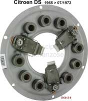 Clutch pressure plate, for 3 lever (finger) clutch. In the exchange! Suitable for Citroen DS, of year of construction 1965 to 07/1972. Diameter: 230mm. Or. No. DX3120. Plus 150 euros Old part deposit. - 30142 - Der Franzose