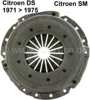 Clutch pressure plate, for diaphragm clutch. New part! Suitable for Citroen DS, starting from year of construction 1971. Citroen SM, all years of construction. - 30106 - Der Franzose