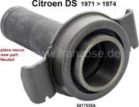 Clutch release sleeve, for clutch Diafragma. Suitable for Citroen DS, starting from year of construction 1971. Or. No. 5417535A. The clutch release sleeve is a new part. An old part return is not necessary. - 30129 - Der Franzose