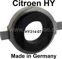 Clutch release sleeve, like original! Suitable for Citroen HY. Premium reproduction. With graphitic ring! Or. No. HY314-07 | 48246 | Der Franzose - www.franzose.de