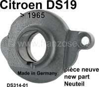 Clutch release sleeve, new part (Made in Germany). Suitable for Citroen DS19, up to year of construction 1965. Or. No. DS31401. Old part return is not necessary. - 30359 - Der Franzose