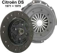 Clutch set without clutch release sleeves. (Diaphragm). Suitable for Citroen DS, starting from year of construction 1971. - 30113 - Der Franzose