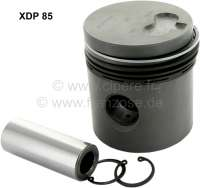 P 403D/404/J7/HY, piston (1 piece), suitable for Citroen HY Diesel. Peugeot 403 D, 404 D, Peugeot J7 Diesel. For engine: XDP 85. Engine capacity: 1816cc. Bore: 85mm. - 71318 - Der Franzose