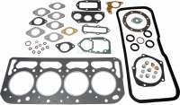 Cylinder head gasket set. Suitable for Citroen ID19, ID20, DS20, DS21, ID21. For engines: DV, DY, DX first version. 1985cc, bore 86mm + 90,0mm. Citroen HY 1,9L, starting from year of construction 11/1969. - 30028 - Der Franzose