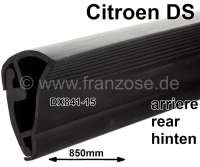 Door seal rear (door side), down in support rail of the door. Per piece. Suitable for Citroen DS. Length: about 850mm. Or. No. DX841-15 | 35025 | Der Franzose - www.franzose.de