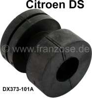 Rubber sleeve for the vibration damping of the drive shafts. Blue marking! Suitable for Citroen DS. Dimension: 26 x 59.5 x 61mm. Or. No. DX373101A. Per piece! - 32151 - Der Franzose